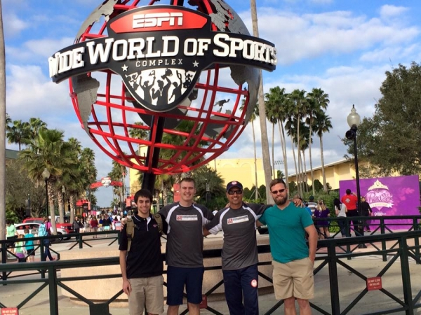 Sports Chiropractor - Dr. Tauberg. Picture of Dr.T at the Wide World Of Sports
